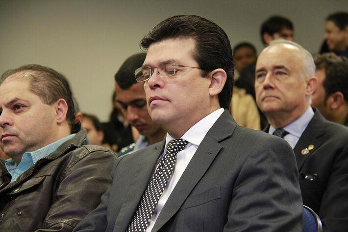 Vice-prefeito Gilmar Olarte/Foto: Wanderson Lara