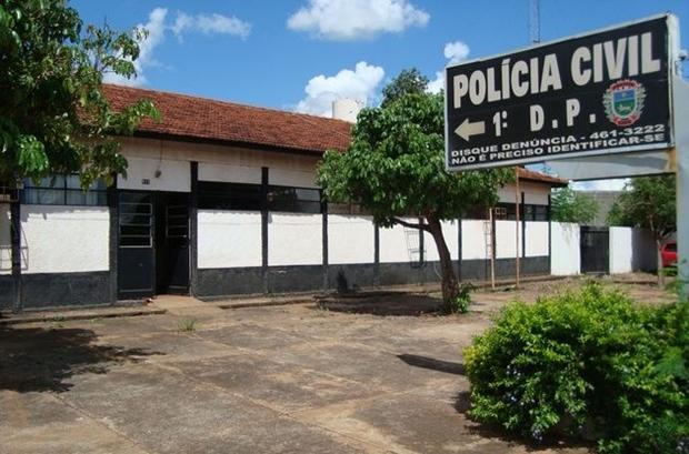Delegacia de Naviraí/Foto: Naviraí Diário