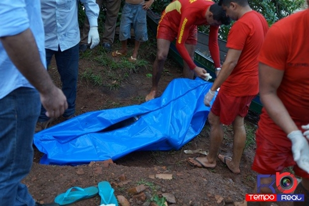 Corpo de menina foi encontrado/Foto: Maikon Junior