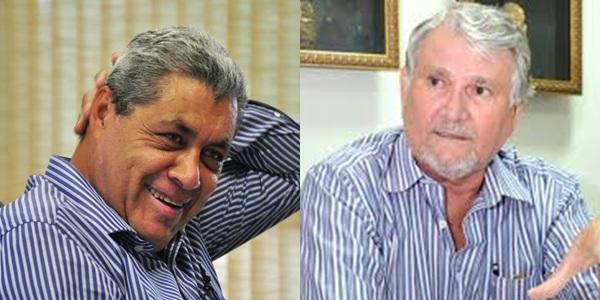 Ex-governadores e rivais conhecidos, André Puccinelli e Zeca do PT