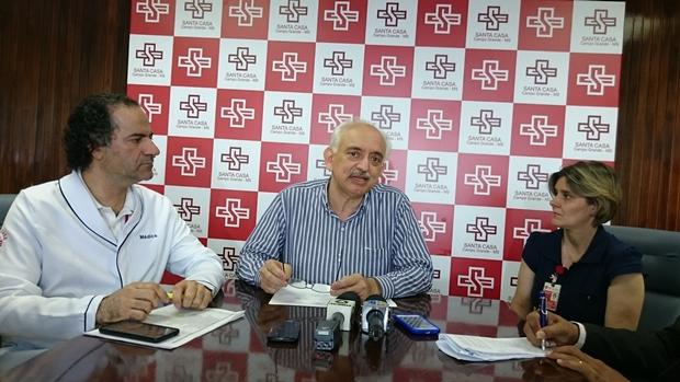 Mário Madureira Diretor Técnico, Wilson Teslenco Presidente da ABCG e Claudenice Valente Superintendente Interina