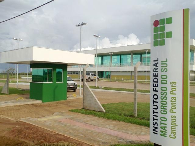 Campus de Ponta Porã oferece 160 vagas