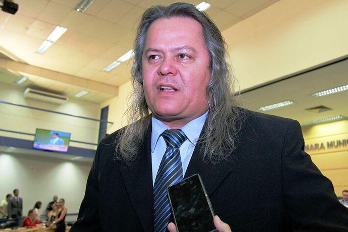 Vereador Vanderlei Cabeludo deixa reunião e alega falta de diálogo/Foto: Wanderson Lara