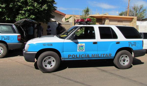 Policia Militar realizou buscas na cidade, mas autor e arma do crima não foram encontrados.