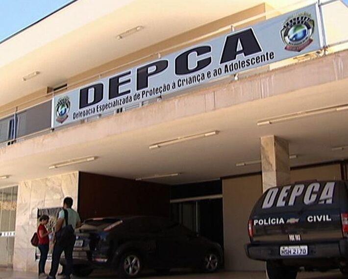 A Depca (Delegacia de Proteção à Criança e ao Adolescente) é responsável pelo caso.