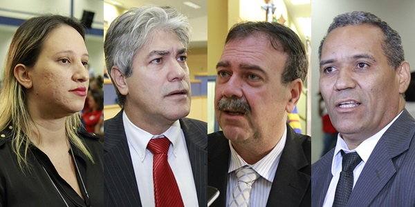 Vereadores Thais Helena, Alex do PT, Paulo Siufi e Chiquinho Telles, além de Flávio César são apontados por secretária como articualdores do movimento contra demissões