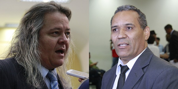 Vereadores Vanderlei Cabeludo e Chiquinho Telles/Foto: arquivo