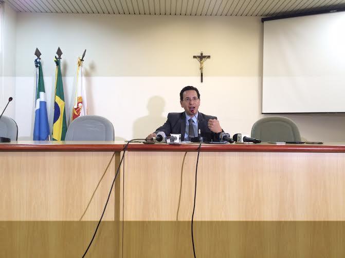 Procurador Geral de Justiça em exercício, Paulo Cézar dos Passos/Foto: Taciane Peres