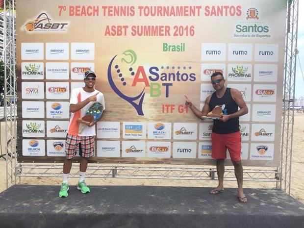 Dupla Tiago Santos e Jailson Paz