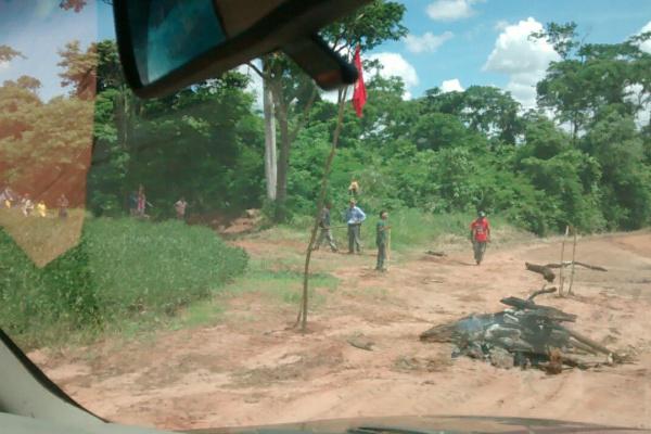 Fazenda Brasília do Sul, invadida por índios