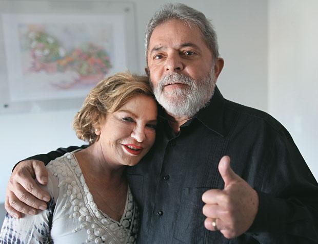 Ex-presidente Lula e sua Esposa Marisa