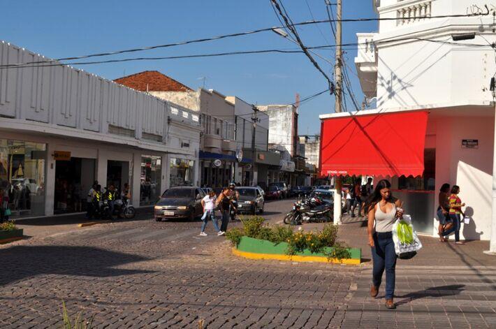 Área Central de Corumbá