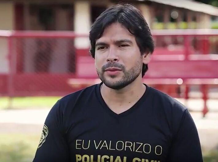 Presidente do Sinpol/MS Giancarlo Miranda