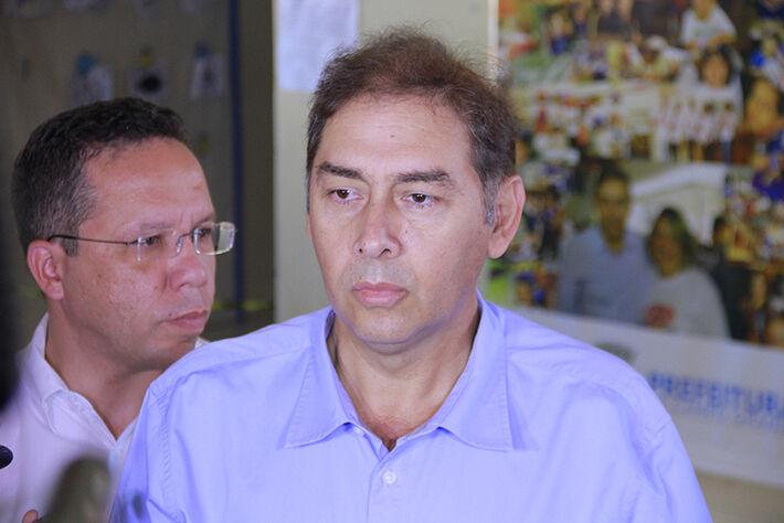 Prefeito de Campo Grande Alcides Bernal