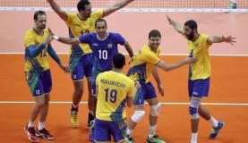 Brasil enfrenta a Rússia na revanche da final olímpica de Londres