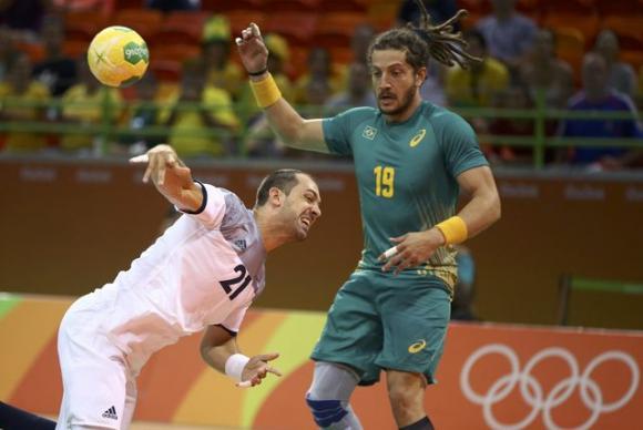 O brasileiro Fabio Chiuffa e o francês Michael Guigo