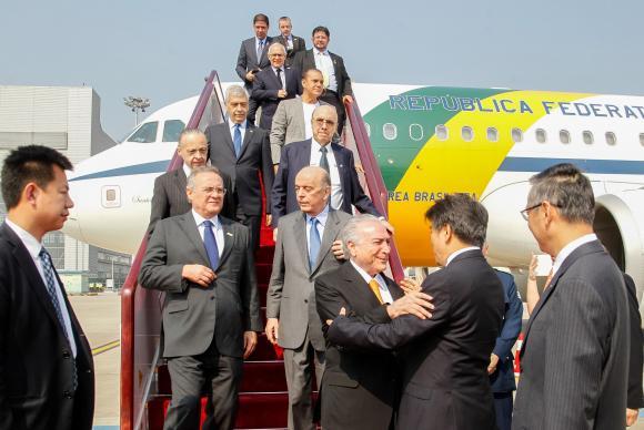 Xangai/China - Presidente da República, Michel Temer, chega à China