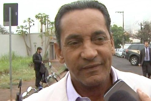 Walter Gomes (PTB), na sede da Polícia Federal em Ribeirão Preto (SP)