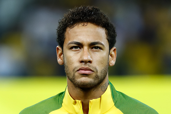 O jogador brasileiro Neymar.
