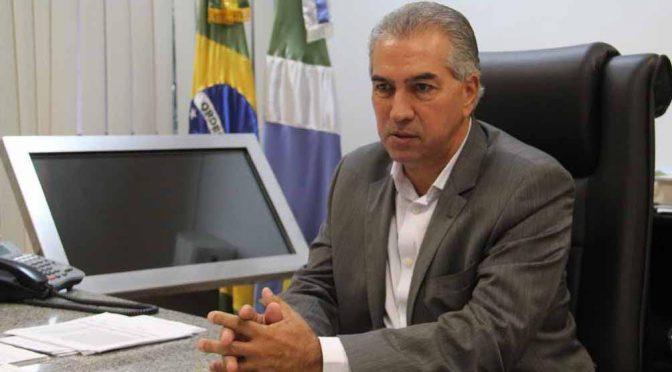 Governador de Mato Grosso do Sul Reinaldo Azambuja