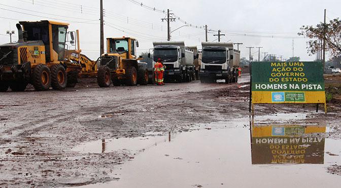 Obras no Núcleo Industrial Indubrasil tiveram início essa  semana