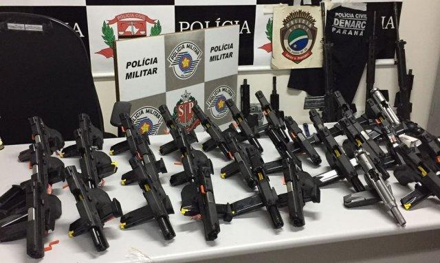 Em maio, arsenal saiu do MS e foi apreendido pela polícia de São Paulo.