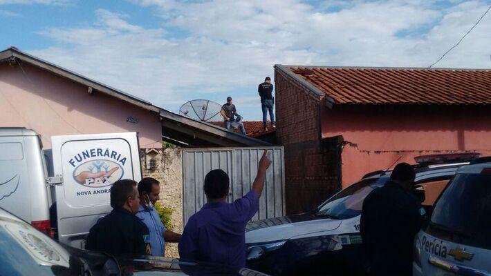 Forças se segurança foram acionadas para a realização dos procedimentos necessários e proceder a remoção do corpo
