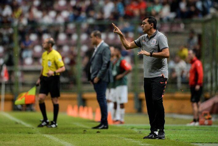 Técnico do Corinthians Fábio Carile