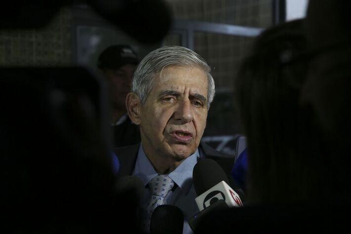O general da reserva Augusto Heleno, indicado para ministro-chefe do Gabinete de Segurança Institucional
