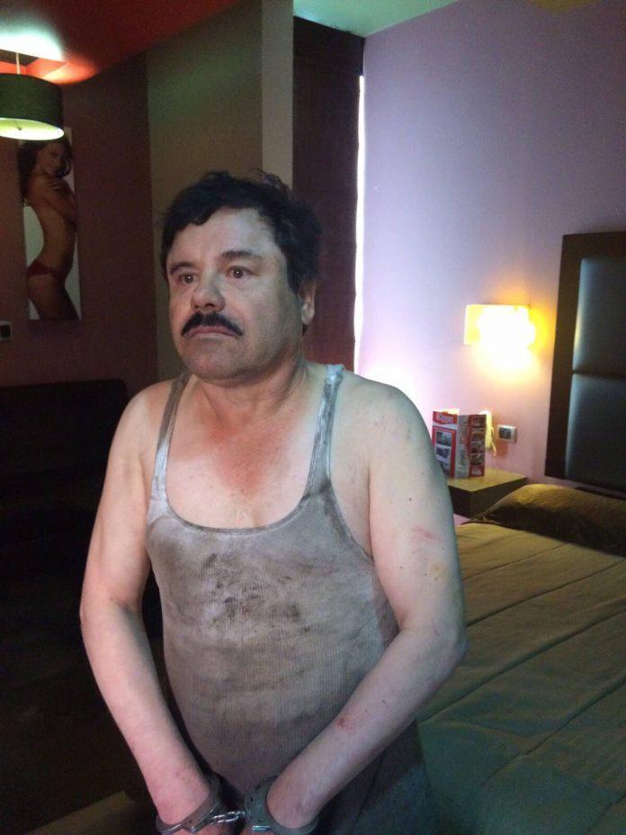 Chapo Guzmán foi recapturado em uma casa em Sinaloa, no México, após confronto entre traficantes e fuzileiros navais