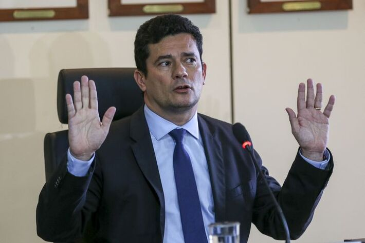 O futuro ministro da Justiça, Sergio Moro