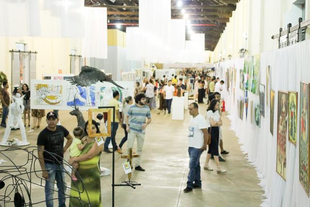 Festival ficou aberto a visitação durante todo o mês de outubro