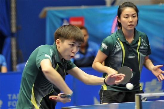 Lin Gui e Jéssica Yamada