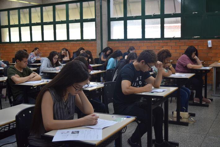Provas foram aplicadas no campus Tamandaré