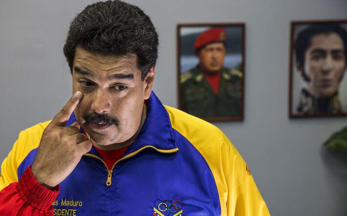 O ditador Venezuelano Nicolás Maduro