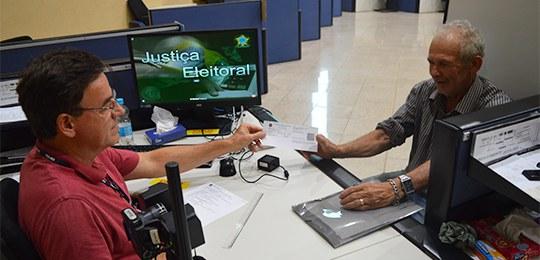 Apenas municípios que realizaram o cadastramento biométrico