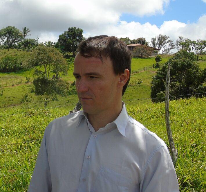 O consultor agropecuário André Sório
