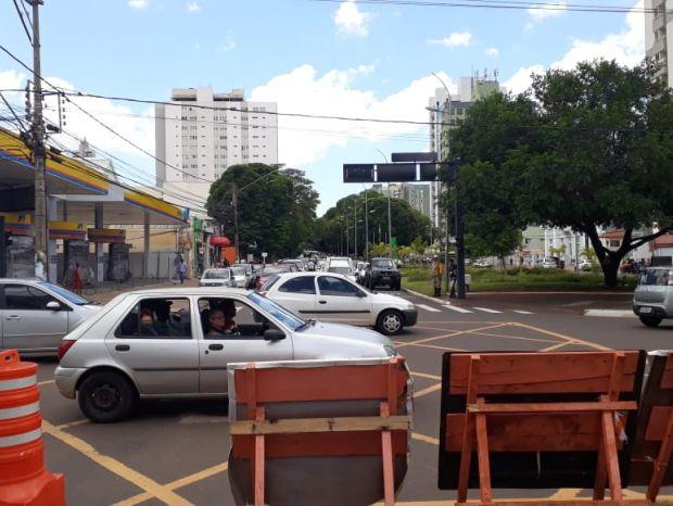 No último sábado (23), o prefeito Marcos Trad (PSD) vistoriou o trecho em obras do Reviva