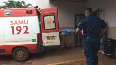 Jovem foi encaminhada com hemorragia  ao hospital