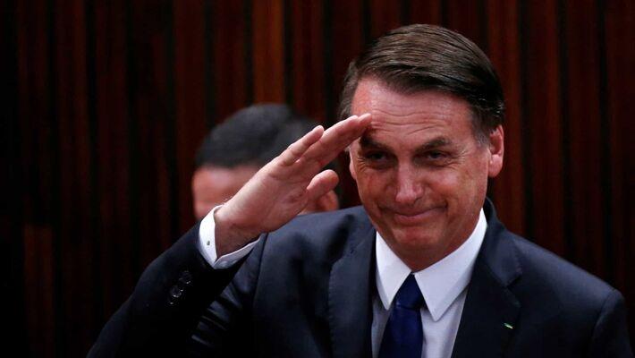 O Presidente do Brasil, Jair Messias Bolsonaro
