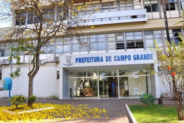 Fachada da Prefeitura de Campo Grande