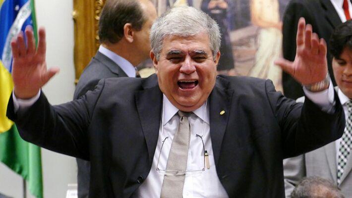 No mesmo dia em que comemorou a soltura do amigo Michel Temer, Marun recebeu a notícia de que perdeu a mamata na Itaipu