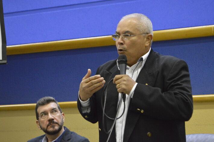 José Lucas da Silva, presidente da Federação Interestadual dos Trabalhadores na Movimentação de Mercadorias de MT e MS