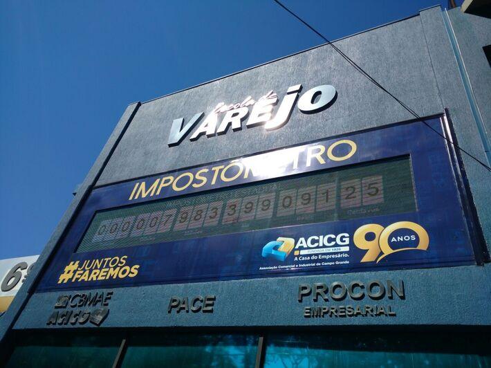 Prédio da ACIGCG - localizado na rua Quinze de Novembro, 390 - Centro, Campo Grande