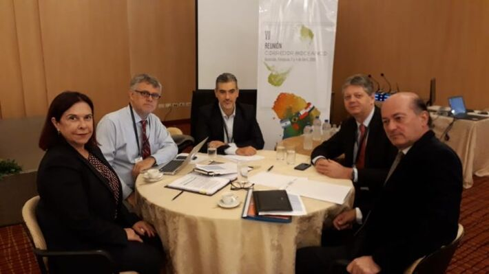 Encontro sobre o Corredor Biocêanico foi realizado no Paraguai.