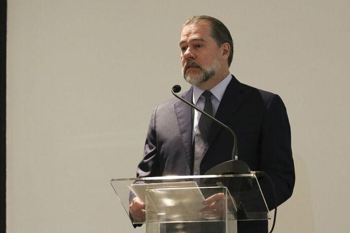 """Dias Toffoli: """"temos que ter a segurança jurídica como o principal valor para que a nossa sociedade possa se desenvolver"""""""