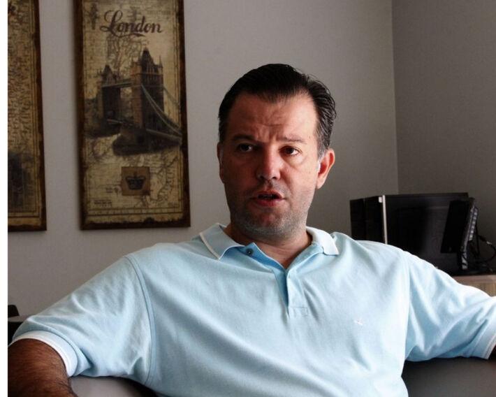 O Prefeito de Jardim-MS, Guilherme Monteiro