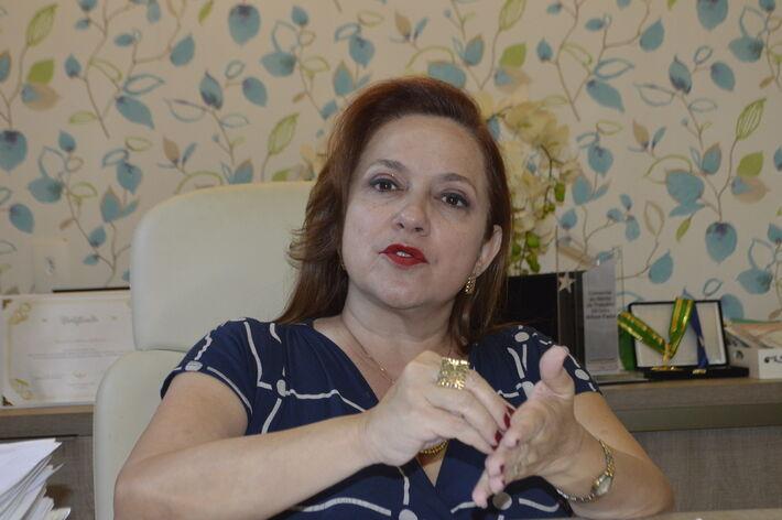 A presidente da AMMS, a neuropediatra Dra. Maria José Maldonado