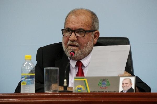 Ex-presidente da Câmara Municipal, Vicente voltou a ser preso por determinação do TJ