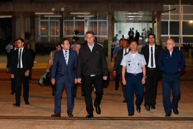 Jair Bolsonaro: militar era tripulante da equipe avançada do presidente